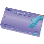 "Accutouch® Powder-free Latex-free Nitrile Exam Gloves, Blue, Small, 9"" L, 1000/Pack"