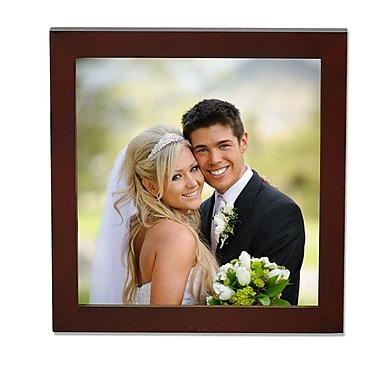 5x5 Walnut Wood Picture Frame - Gallery Collection