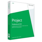 Microsoft Project Professional 2013 for Windows (1-User) [Product Key Card]