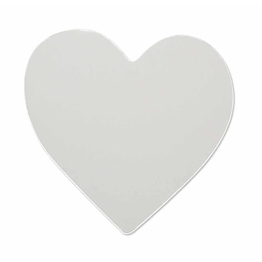 RoomMates® Heart Shape Peel and Stick Wall Mirror, Large, 10 1/2