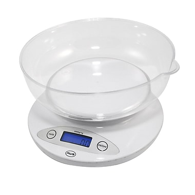 AWS® 5KBOWL Digital Kitchen Bowl Scale, 11 lbs.