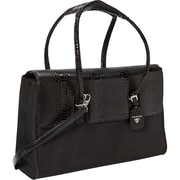 "Francine Collection London Computer Bag for 15.6"", Python Black"