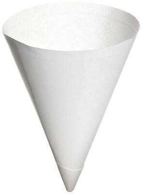 SOLO Bare Eco-Forward 156BB Cone Water Cup, White, 7 oz., 5000/Case 150282