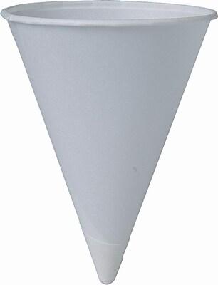 SOLO Bare Eco-Forward 6RBU Water Cup, White, 6 oz. 150296