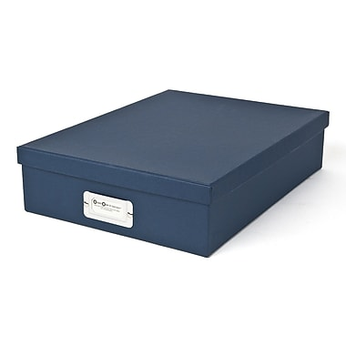 Bigso Oskar Letter Box Navy Blue
