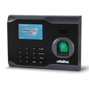 uAttend Unlimited Plug 'n' Play Ethernet Connection Fingerprint Wi-Fi Time Clock, Black (BN6500SC)
