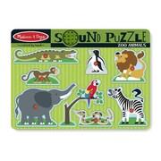 Melissa & Doug Zoo Animals Sound Puzzle