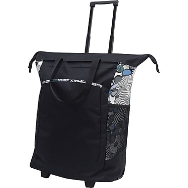 GP® 42211 Handy Rolling Tote With Free Removable Leak Proof Liner, Black