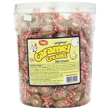 Goetze's Caramel Creams®, 200 Pieces/Tub