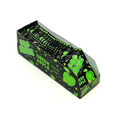 Pop Rocks Green Apple, 0.66 oz. Packs, 24 Packs/Box