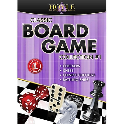 Encore Hoyle Classic Board Game Collection 1 for Windows 1 User [Download]