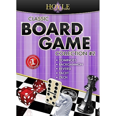 Encore Hoyle Classic Board Game Collection 2 for Windows 1 User [Download]