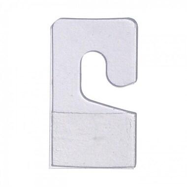 Pressure Sensitive Package Hangers, 100/Pack