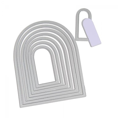 Sizzix® Framelits Die Set, Tags, Rounded