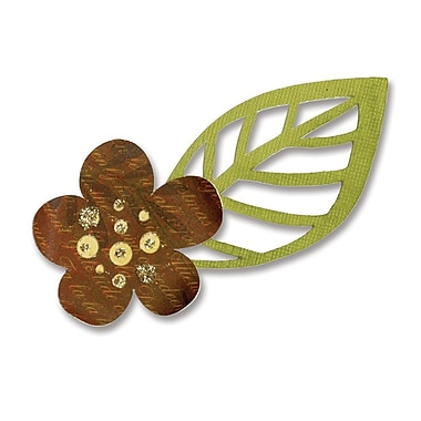 Sizzix® Sizzlits Die, Flower & Leaf #5