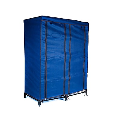 Trademark Home™ Portable Closet With 4 Shelves, Navy Blue