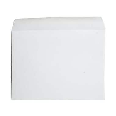 JAM Paper® 10 x 13 Booklet Envelopes, Strathmore Bright White Wove, 25/pack (900855504)