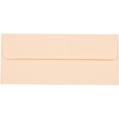 JAM Paper® #10 Business Envelopes, 4 1/8 x 9 1/2, Strathmore Natural White Wove, 25/pack (34992)