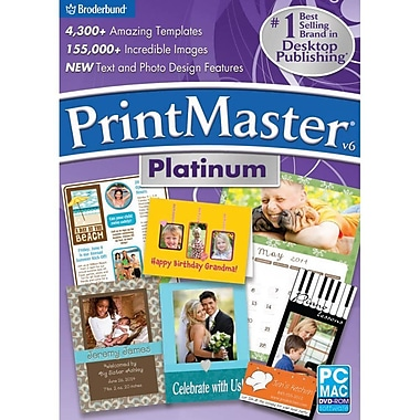 Encore PrintMaster v6 Platinum for Mac (1 User) [Download]