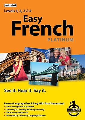 Individual Software Easy French Platinum for Windows 1 User [Download]