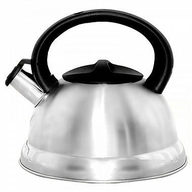 Better Chef® 3 Liter Whistling Tea Kettle, Silver