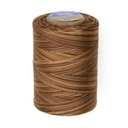 Star Mercerized Cotton Thread Variegated, Chocolate Swirl, 1200 Yards