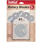 TrueCut Rotary Cutter Replacement Blades 45mm, 5/Pkg
