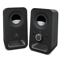 Logitech Z150 6W Multimedia Speakers with Stereo Sound (Black)