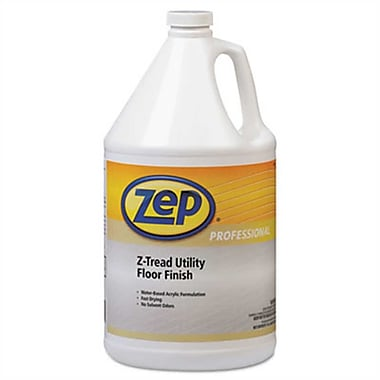 Zep Professional® Z-Tread Utility Floor Finish, 1 gal