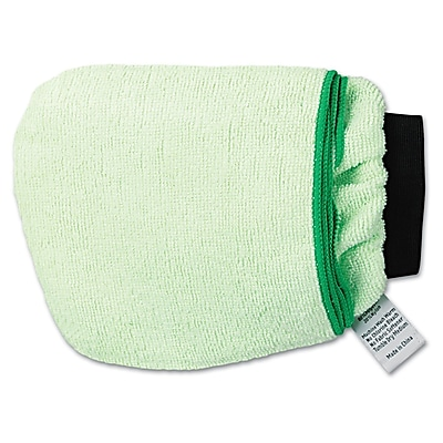 UnisanGrip N Flip 10 Sided Microfiber Mitt Green