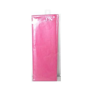 JAM Paper® Shimmer Tissue Paper, Hot Pink Watermelon Metallic, 3/Pack (1162410)