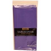 JAM Paper 291423359 Plastic Table Cover, Purple
