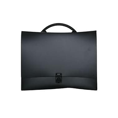 JAM Paper® Fashion Briefcase, 12.25 x 8.75 x 1.5, Black, Sold Individually (4200BLACK)