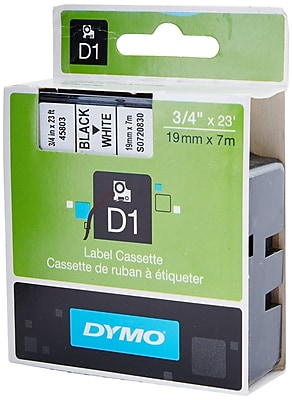 DYMO 45803 High Performance Permanent Self Adhesive Polyester Label Tape is great for Label Makers White