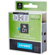 DYMO® 45803 High-Performance Permanent Self-Adhesive Polyester Label Tape is great for Label Makers, White