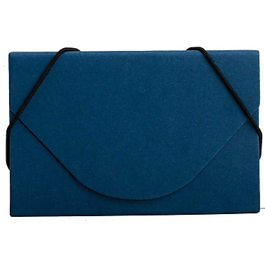JAM Paper® Kraft Ecoboard Business Card Case, Royal Blue Recycled Kraft, Sold Individually (2500 208)