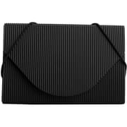 JAM Paper® Plastic Business Card Case, Black Ridge, Sold Individually (2500 818)
