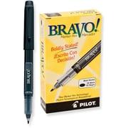 Pilot Bravo Bold Marker Pens, Black (11034)