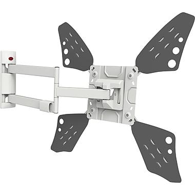 "Flat/ Curved TV Long Wall Mount, 4 Movement: Rotate, Fold, Swivel & Tilt, Fits 32""-70""/ 81cm- 178cm"
