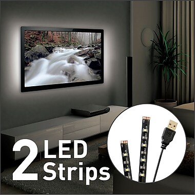 USB Mood Light for TV, 2 x 19.7