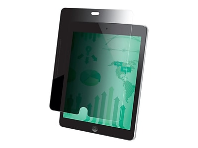 """""3M PFTAP001 Anti-Glare Privacy Filter for 9.7"""""""" iPad Air 1/2/Pro, Black"""""" IM12Y8173"