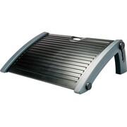 Aidata Sleek Ergonomic Footrest, Plastic/Rubber, Black/Gray (FR-1001G)
