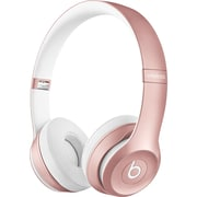 Beats by Dr. Dre Solo2  MLLG2AM/A Wired/Wireless Stereo Headphone, Rose Gold