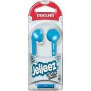 Maxell  Jelleez 191568 Wired Stereo Dynamic Earset, Blue