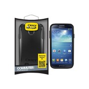 Otter Box  Commuter Series Protective Case for Galaxy S4, Black (EF-CMBLI950OTT)