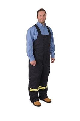 Viking Firewall FR Striped Insulated Overalls 9oz. Royal Blue 5157912004XL
