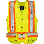 Viking Professional Trilobal Ripstop Surveyor Safety Vest Green (U3995G-M)