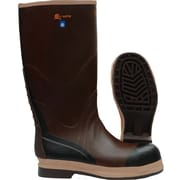 Viking Neoprene Insualted NBR Rubber Safety Boot, ASTM F2413-11 Steel Toe, Steel Plate, Brown (VW22-14)