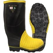 Viking Miner 49'er Tall NBR Rubber Boot, ASTM Mt/75 Metatasal, ASTM F2413-11 Steel Toe, Steel Plate Size: 9