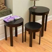 Wildon Home   Bay Shore 3 Piece Nesting Tables; Espresso